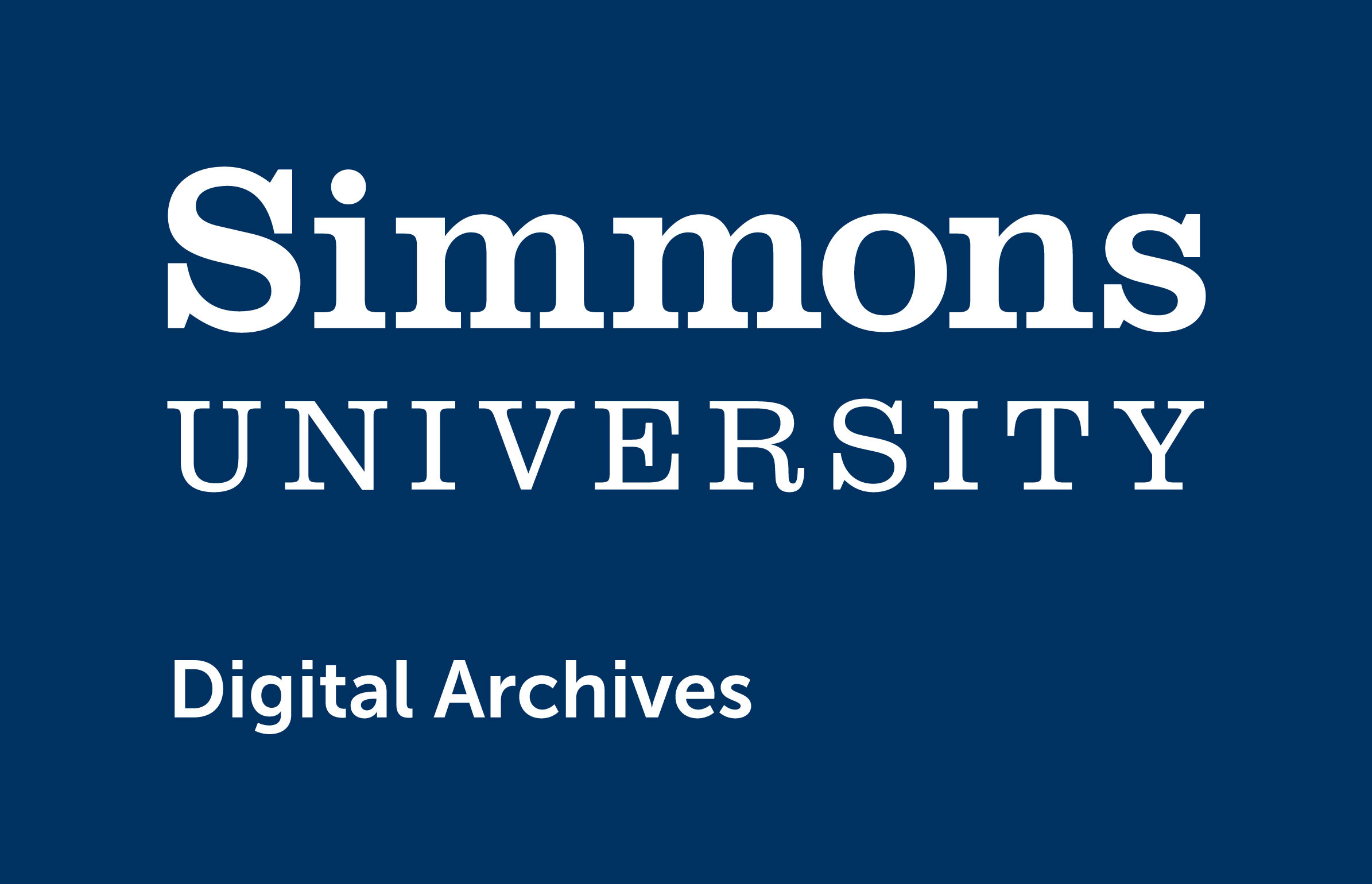 Simmons University Digital Archives